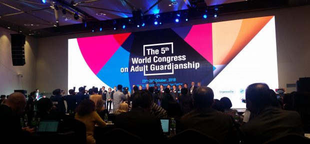 Picture of the World Congress conference screen